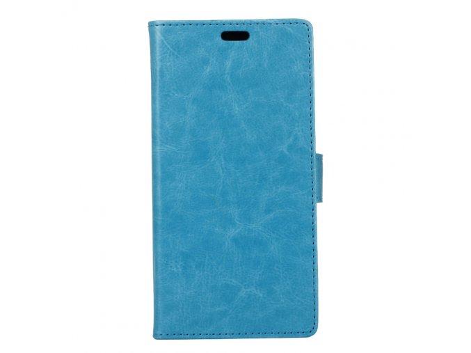 KG pouzdro Wallet Style Doogee Y6 (5008) Blue
