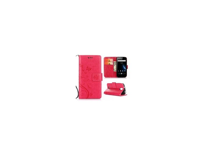 KG pouzdro Wallet Style Doogee X3 (5001) Red