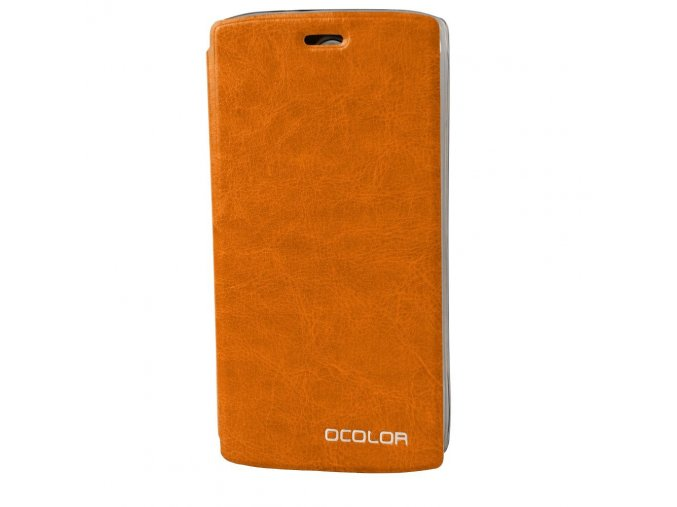 KG pouzdro Wallet Style Doogee Homtom HT7 (20170609) Orange