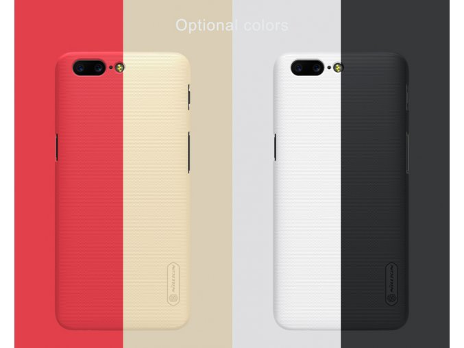 Pouzdro Nillkin Frosted Shield OnePlus 5 Red