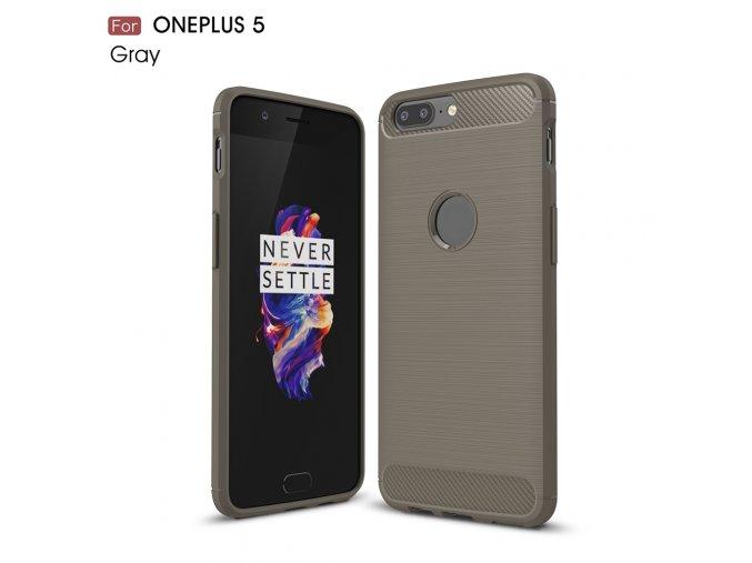 Silikonové pouzdro pro OnePlus 5 | Gray