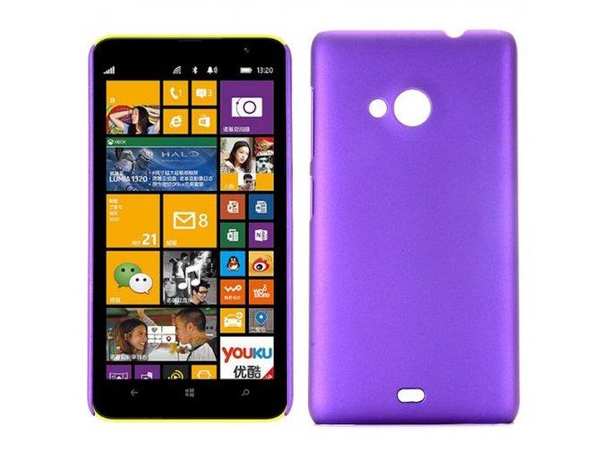 Silikonové pouzdro pro Microsoft Lumia 535   Purple