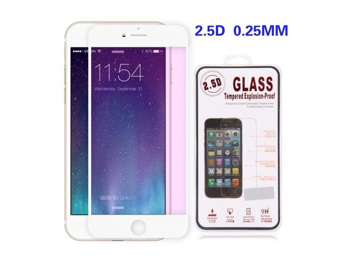 Tvrzené sklo pro iPhone 6 6S | White