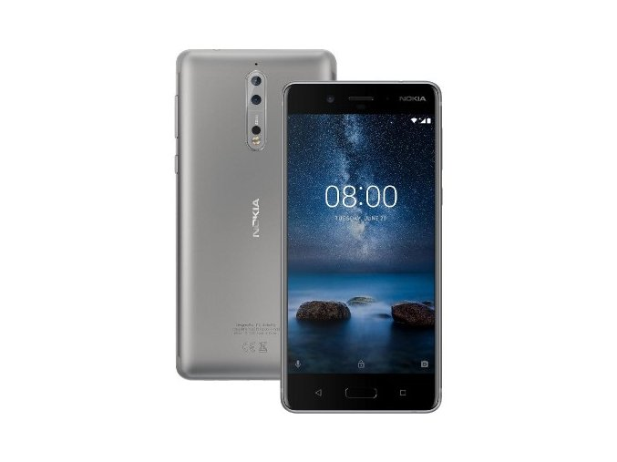 Nokia 8 Dual SIM Steel