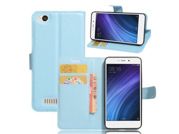 Flipové pouzdro pro Huawei Honor 4A/Y6 | WALLET | Blue