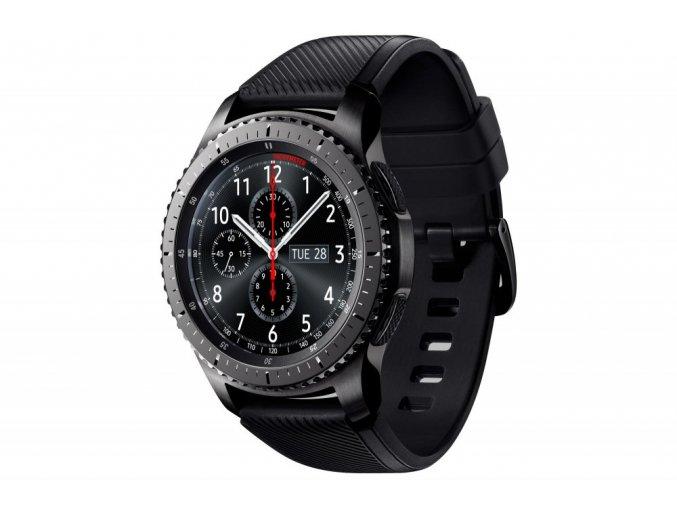Samsung Gear S3 Frontier SM-R760 Black  + ZDARMA ochranná fólie v hodnotě 99 kč