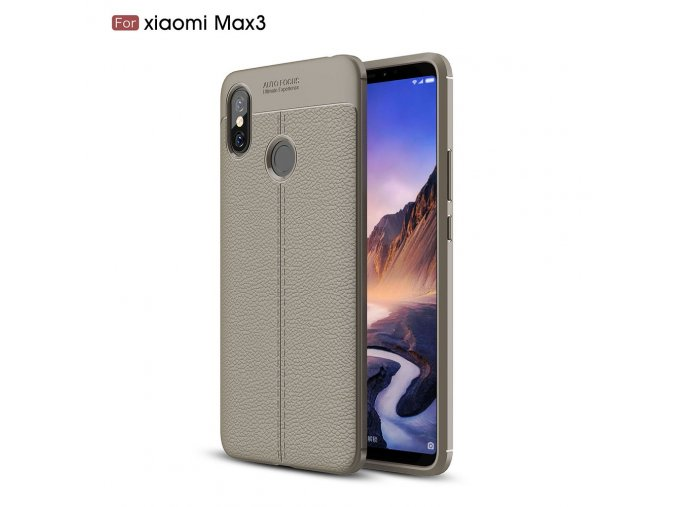 Silikonové pouzdro pro Xiaomi Mi Max 3 | Grey