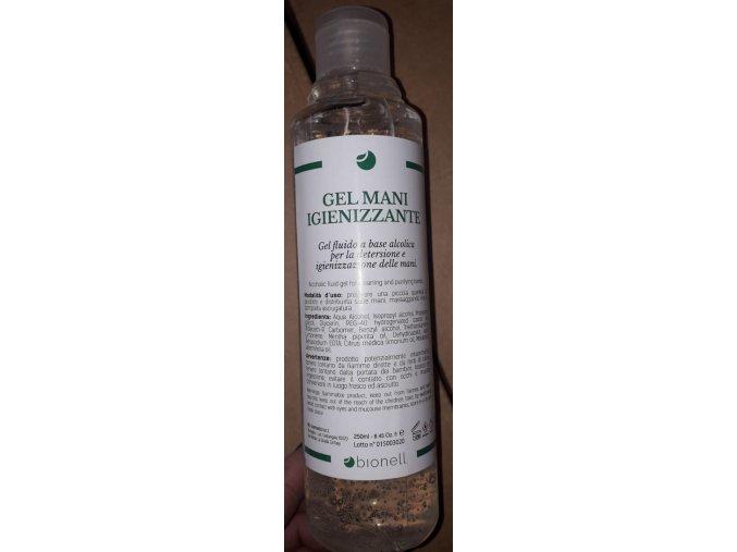 Dezinfekční čistící gel na ruce - 250ml