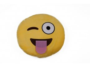 KG polštářek smajlík Vtipálek, průměr 32 cm