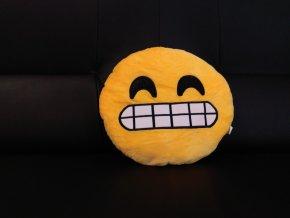 KG polštářek smajlík Bender, průměr 32 cm