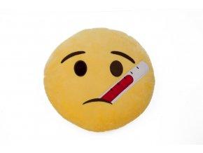KG polštářek smajlík Angínáček, průměr 36 cm