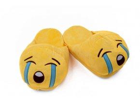 KG pantofle pro dospělé smajlík Uplakánek