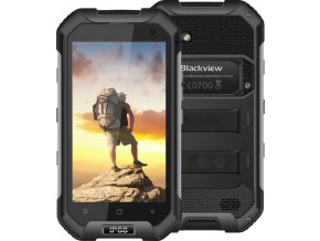 iGET BlackView BV6000 Black - Bazarový telefon