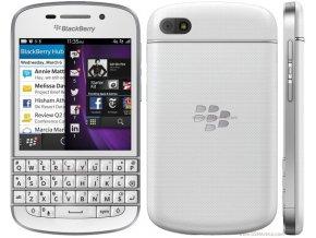 BlackBerry Q10 White  + akční cena platí pouze do neděle 24.2.2019