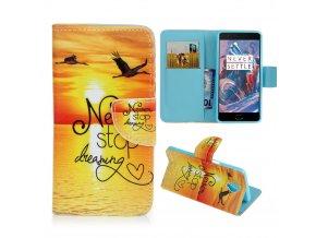 KG pouzdro Wallet Style 2 pro OnePlus 3 (5005) - E