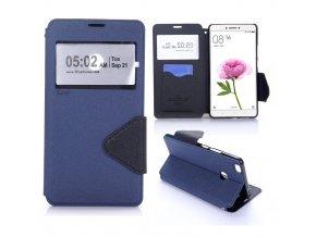 KG pouzdro Wallet Style pro Xiaomi Mi Max (5003) Navy blue