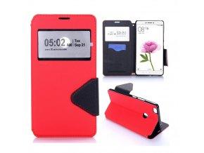 KG pouzdro Wallet Style pro Xiaomi Mi Max (5003) Red