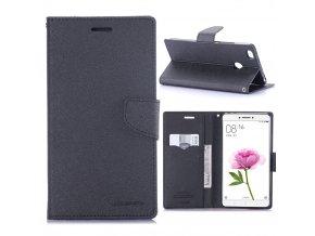 KG pouzdro Wallet Style pro Xiaomi Mi Max (5001) Black