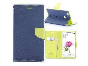 KG pouzdro Wallet Style pro Xiaomi Mi Max (5001) Dark blue