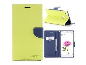 KG pouzdro Wallet Style pro Xiaomi Mi Max (5001) Green