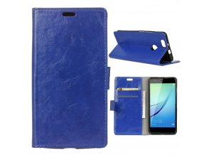 KG pouzdro Wallet Style Huawei Nova (5006) Blue