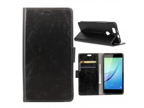 KG pouzdro Wallet Style Huawei Nova (5006) Black