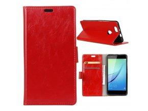 KG pouzdro Wallet Style Huawei Nova (5006) Red