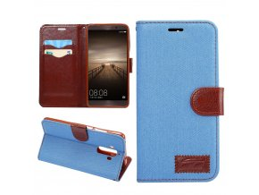 KG pouzdro Wallet Style Huawei Mate 9 (5006) Light Blue