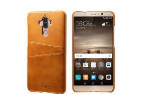 KG pouzdro Huawei Mate 9 (4009) Brown Yellow