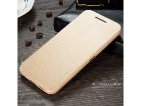 KG flipové pouzdro HTC 10 (5010) Gold