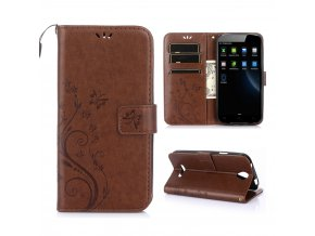 KG pouzdro Wallet Style Doogee X6 (5002) Brown