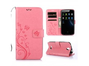 KG pouzdro Wallet Style Doogee X6 (5002) Pink