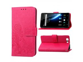 KG pouzdro Wallet Style Doogee X5 (5004) Rose Red
