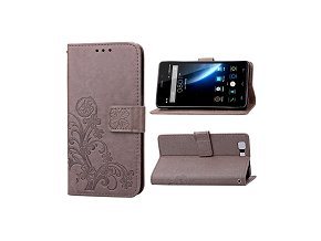 KG pouzdro Wallet Style Doogee X5 (5004) Light Brown