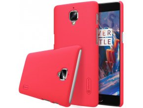 Pouzdro Nillkin Frosted Shield OnePlus 3 Red