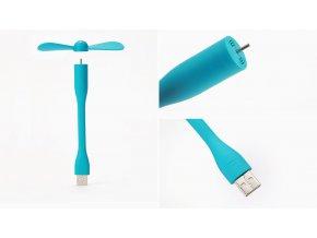 Xiaomi Mi USB ventilátor Blue (SSFS01ZM)