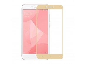 Tvrzené sklo pro Xiaomi Redmi Note 4X | Gold