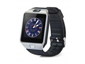 Erenbach Smartwatch DZ09 silver + folie zdarma