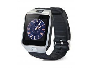 Erenbach Smartwatch DZ09 silver  + ochranná fólie za 69 kč ZDARMA