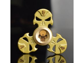 KG Fidget Hand Spinner (1101) Death Guard Gold