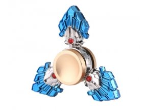 KG Fidget Hand Spinner Three Leaves Blue