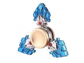 KG Fidget Hand Spinner Three Leaves Blue