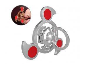 KG Fidget Hand Spinner Sky Ring Silver