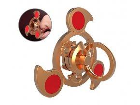 KG Fidget Hand Spinner Sky Ring Gold