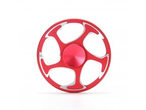KG Fidget Hand Spinner (1322) Red Wheel