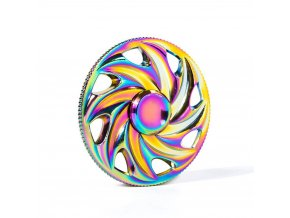 KG Fidget Hand Spinner (1309) Rainbow Wheel
