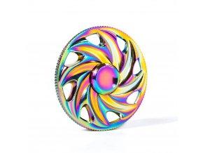 KG Fidget Hand Spinner (1309) Rainbow Wheel