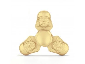 KG Fidget Hand Spinner (1303) Tri-Side Gold