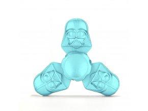 KG Fidget Hand Spinner (1303) Tri-Side Blue