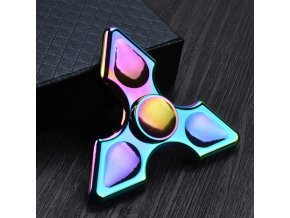 KG Fidget Hand Spinner (1120) Rainbow Triangle